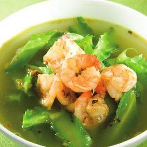 Món ăn bổ dưỡng với quả đậu rồng